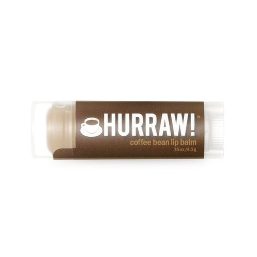 Hurraw! Lipbalm Coffee Bean
