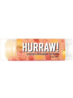 Hurraw! Lipbalm Papaya Pineapple