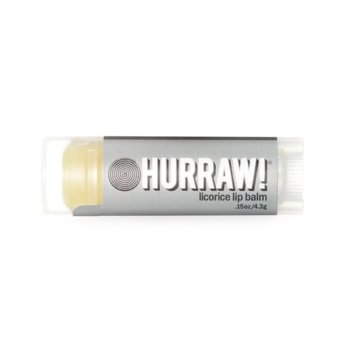 Hurraw! Lipbalm Lippenbalsem Licorice
