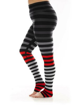 K-DEER Stripe Legging - Jennifer Stripe (XS/S/M/L/XL)