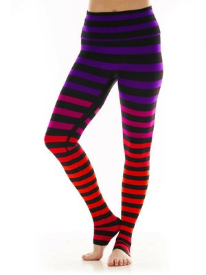 K-DEER Stripe Legging - Sophia Stripe (L)