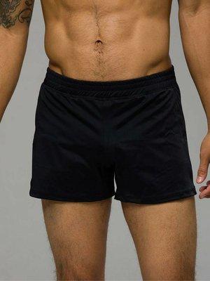 Onzie Yoga Wear Classic Mens Short - Black (S/M)