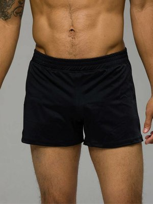 Onzie Yoga Wear Classic Mens Short - Black (S)
