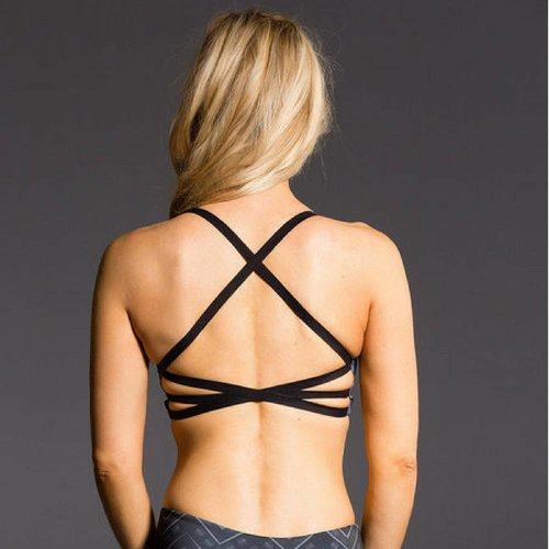 Onzie Yoga Wear X Back Elastic Bra Top - Cairo (S/M/L)