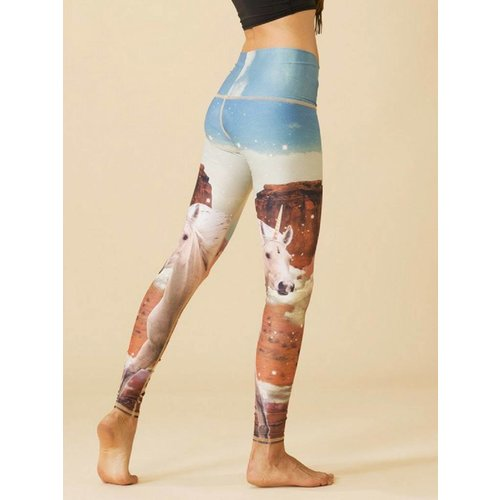 Teeki Yogakleding Unicorn Wrangler - Hot Pants Legging (S)