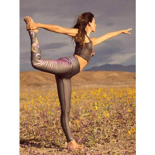 Teeki Yogakleding Phoenix Rising - Hot Pants Legging (S)