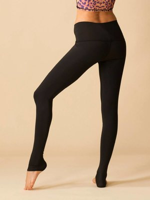 Teeki Yogakleding Solid Black - Hot Pants Legging (XS/S)