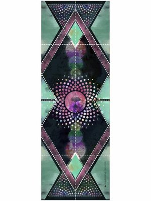 Vagabond Goods Cosmica Printed Yoga Towel