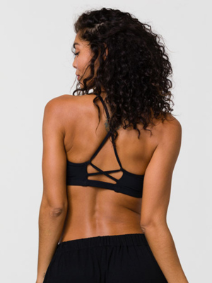 Onzie Yoga Wear Bridge Bra - Black (XS/S/M/L)
