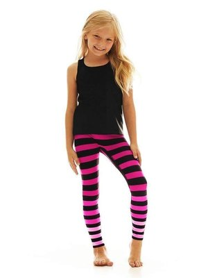 K-DEER Kids Legging - Laura Stripe (5 to 8 years)