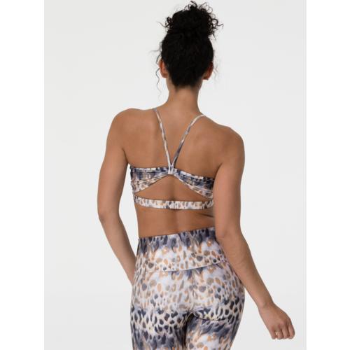 Onzie Yoga Wear Bow Bra - Safari (S/M)