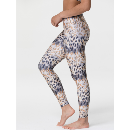 Onzie Yoga Wear High Rise Tech Legging - Safari (S)