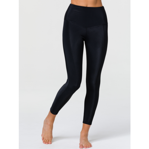 Onzie Yoga Wear Sweetheart Midi Legging - Black (S/M)
