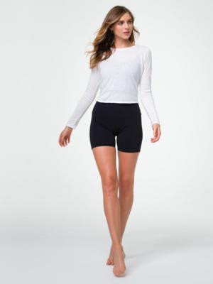 Onzie Yoga Wear High Rise Mini Short - 5 inch - Black (XS/S/M)