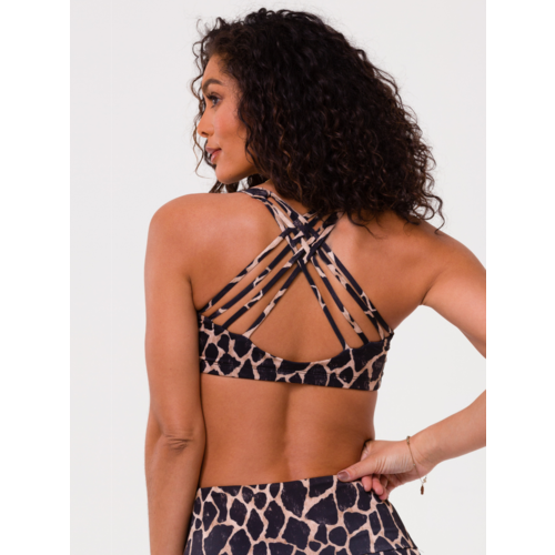 Onzie Yoga Wear Chic Bra Top - Giraffe (S/M/L)
