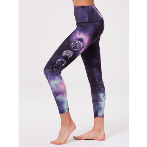 Onzie Yoga Wear Graphic High Rise Midi Legging - Solar (XS/S/M)