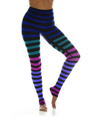 K-DEER Stripe Legging - Izzy Stripe (XS/S/M/L/XL)