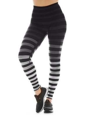 K-DEER Sneaker Length Legging - Jody Stripe (XS)