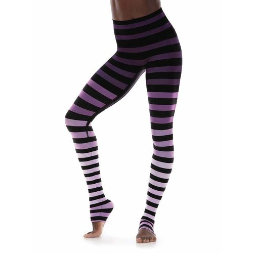 K-DEER Stripe Legging - Morgan Stripe (XS/S/M/L/XL/2XL)