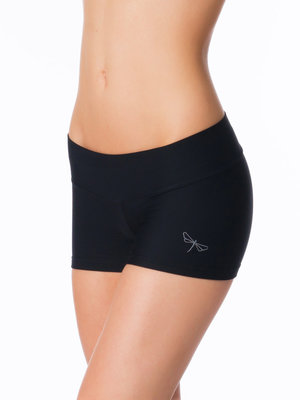 Dragonfly Yoga Wear Lena Fitness Shorts - Black (XS/S/M)