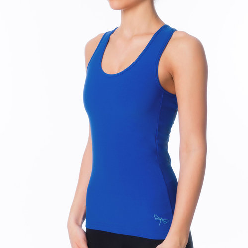 Dragonfly Yoga Wear Christine Sports Tank Top - Blue (S/M)
