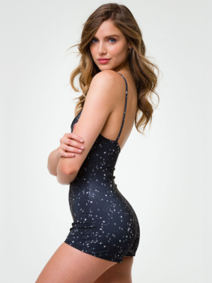 Onzie Yoga Wear Shortie - Starry Night (S/M)