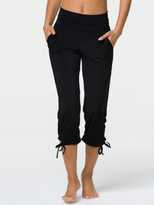 Onzie Yoga Wear Gypsy Pant - Black (M/XL)