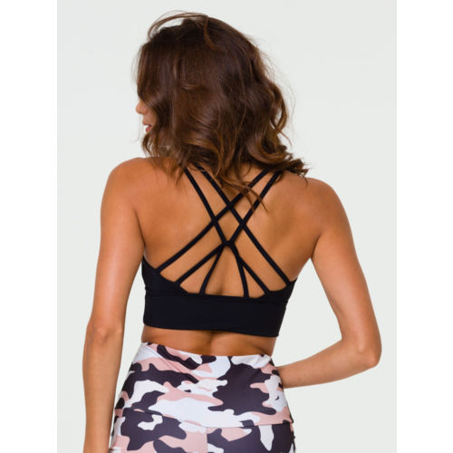 Onzie Yoga Wear Sacred Bra - Black (S/M/L)