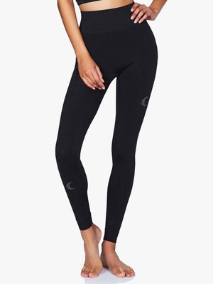 Moonchild Yoga Wear Solstice Leggings - Black Silver (XS/S/M/L)
