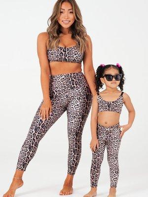 Onzie Yoga Wear Kids Legging Leopard (4 tot 10 years)