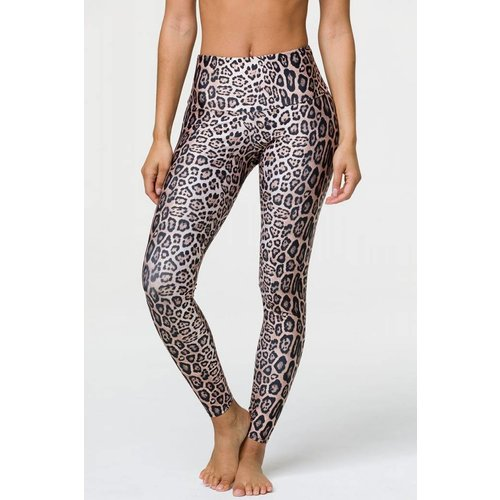 Onzie Yoga Wear High Rise Legging - Leopard (XS/S/M/L/XL)