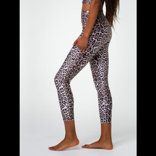 Onzie Yoga Wear High Rise Pocket Legging - Leopard (XS/S/M)
