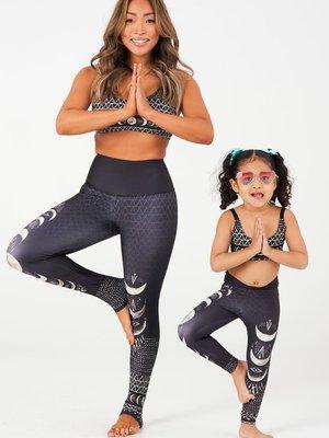Onzie Yoga Wear Kids Graphic Legging Las Lunas (4 tot 10 years)