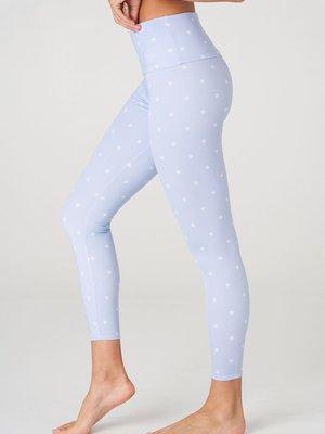 Onzie Yoga Wear High Rise Midi Legging - Petite Stars (XS/S/M)