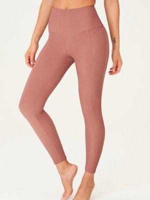 Onzie Yoga Wear Sweetheart Midi Legging - Toast Rib (S/M)