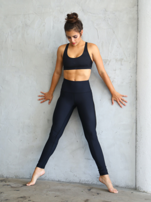 Yoga Democracy Legging - Basically Perfect Black (XS/M/L/XL)