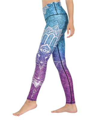 Yoga Democracy Legging - Third Eye Chakra (XS/S/M/L)
