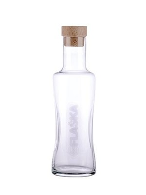 Flaska Water Bottle Vodan Jug 1 Liter Carafe