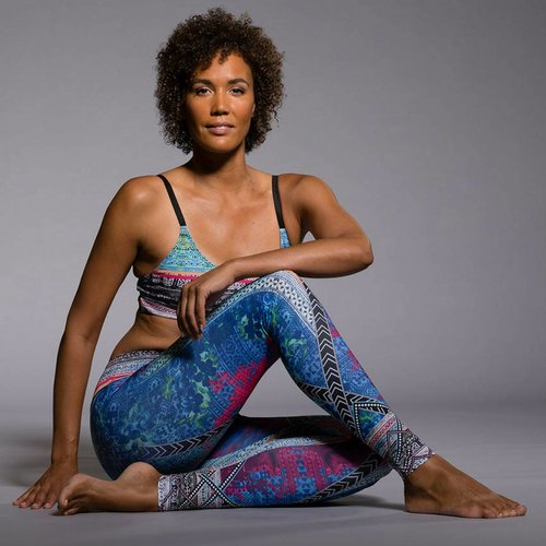 Onzie Yoga Wear Graphic Legging - Indo mix (XS)