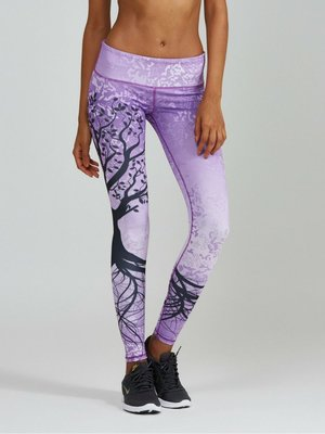 Noli Yoga Wear Lavender Tree Legging (L)