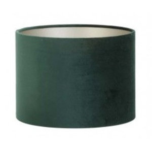 Light & Living Lampenkap 18 cm Cilinder VELOURS Dutch Green