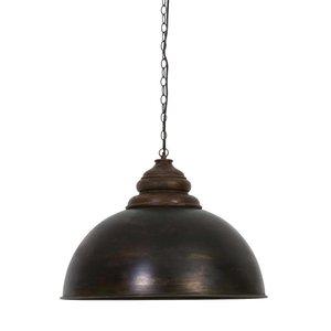 Light & Living Hanglamp LEIA 61 cm Zwart Zink