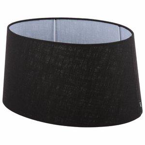 Collectione Lampenkap 35 cm Ovaal AVANTGARDA Zwart