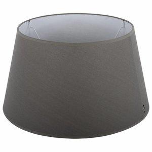 Collectione Lampenkap 30 cm Drum ELEGANZA Grijs