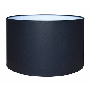 RamLux Lampenkap 35 cm Cilinder CHINTZ Zwart