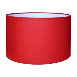 RamLux Lampenkap 35 cm Cilinder CHINTZ Rood