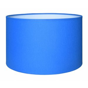 RamLux Lampenkap 45 cm Cilinder CHINTZ Blauw