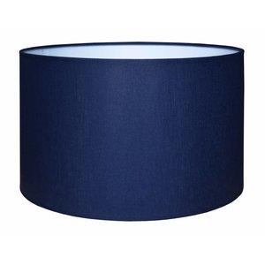 RamLux Lampenkap 40 cm Cilinder CHINTZ Marineblauw
