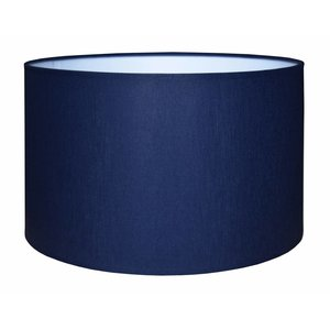 RamLux Lampenkap 45 cm Cilinder CHINTZ Marineblauw