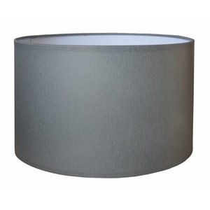 RamLux Lampenkap 20 cm Cilinder CHINTZ Grijs